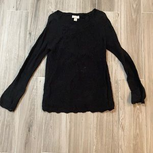 Black Loft Outlet Sweater Size Medium